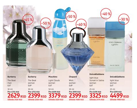 ac6cf9fda1 Kozmetički poklon setovi i parfemi na sniženju