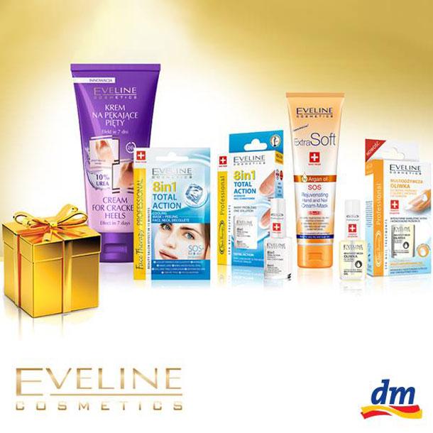 dm nagrađuje Eveline paketićima