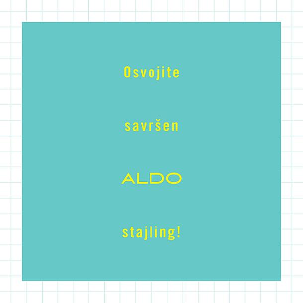 Osvojite savršen Aldo stajling!