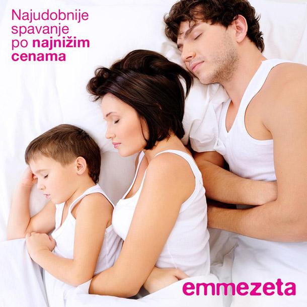 Samo u Emmezeti: Dušeci, podnice i sve neophodno za miran i udoban san