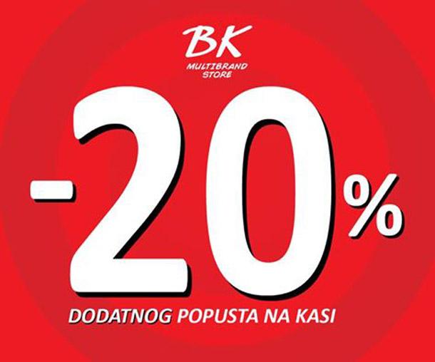 Beba Kids - 20% dodatnog popusta!
