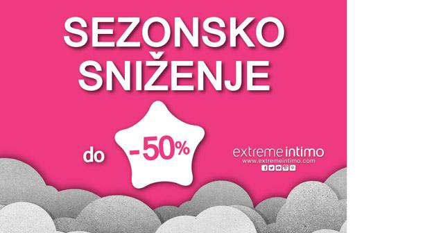Extreme Intimo - Sezonsko sniženje!