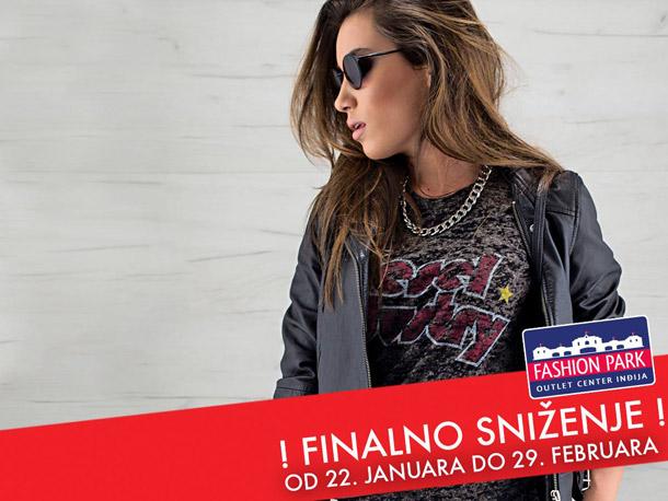Fashion park outlet center Inđija- Finalno sniženje!