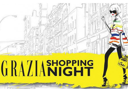 Grazia Shopping Night Petak 7. Maj 2010. - Najava!