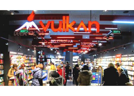 Knjižara Vulkan | Otvorena nova knjižara u Sremskoj ulici