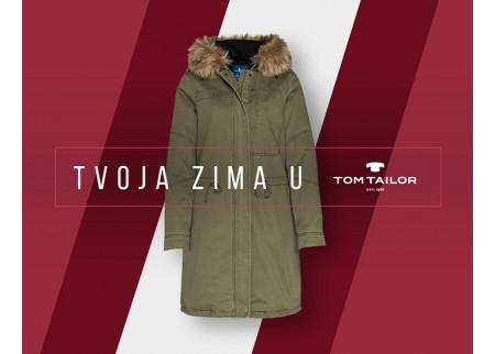 Osvoji Tom Tailor jaknu na Facebook stranici Delta Cityja