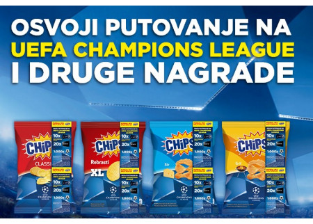 Chipsy Champions League nagradna igra