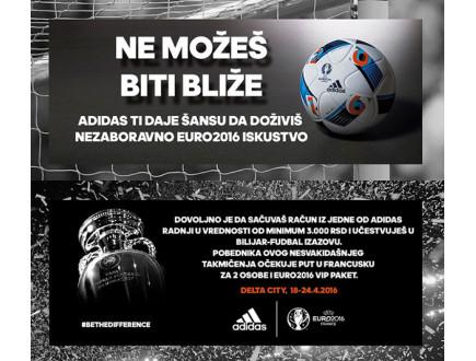 Adidas ti daje šansu da doživiš nezaboravno EURO2016 iskustvo!