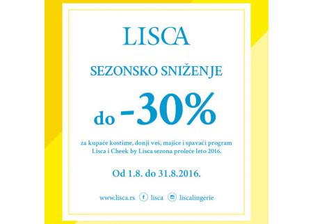 Sezonsko sniženje - LISCA