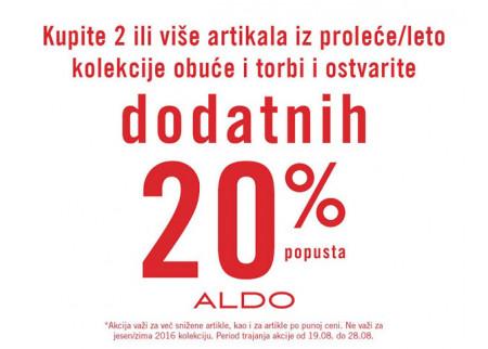 Aldo akcija za kupovinu dva ili vise artikala!