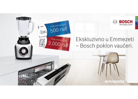 Ekskluzivno u Emmezeti: Bosch poklon vaučeri