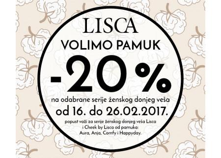Lisca - VOLIMO PAMUK!