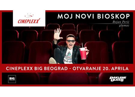 Bioskop Cineplexx u Big Fashion šoping centru na Karaburmi!