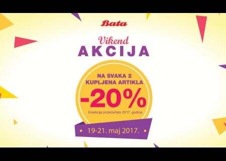 BATA VIKEND AKCIJA