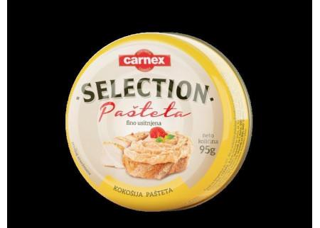 Carnex Selection kokošija pašteta – jedina koja sadrži samo batak i belo meso