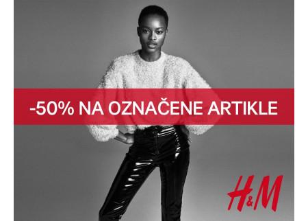 50 % popusta u H&M radnjama