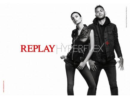 NEYMAR JR. i EMILY RATAJKOWSKI kao glavne zvezde REPLAY HYPERFLEX+ kampanje