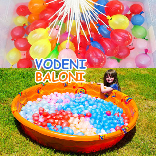 Happy Water Balloons - 100 vodenih balona