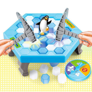 Penguin Trap igra za decu - Pingvin na opasnom ledu