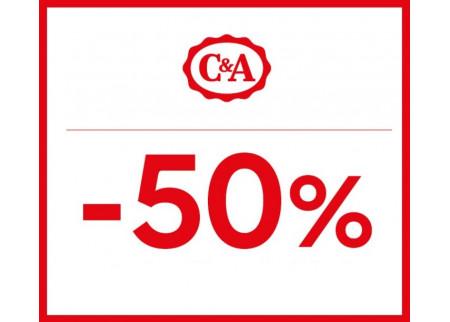 C&A - 50% popusta na drugi jeftiniji komad trikotaže