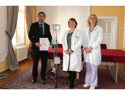GOMEX: Donacija od milion dinara Institutu za neonatologiju u Beogradu