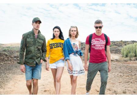 SUPERDRY - Vatromet boja i printova za proleće 2019