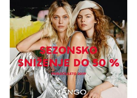 MANGO SEZONSKO SNIŽENJE DO 50%