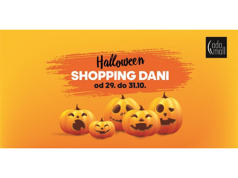 Super šoping i zabava u Ada mall-u za Halloween dane