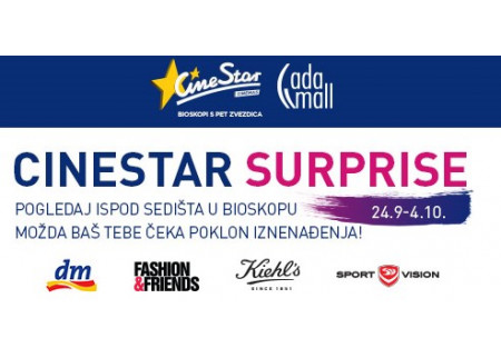 CineStar Surprise u Ada mall-u