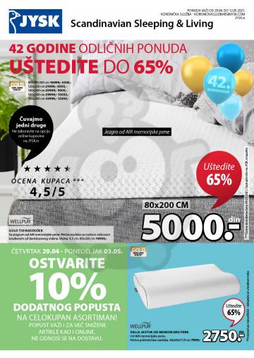 Akcija - Uštedite do 65%