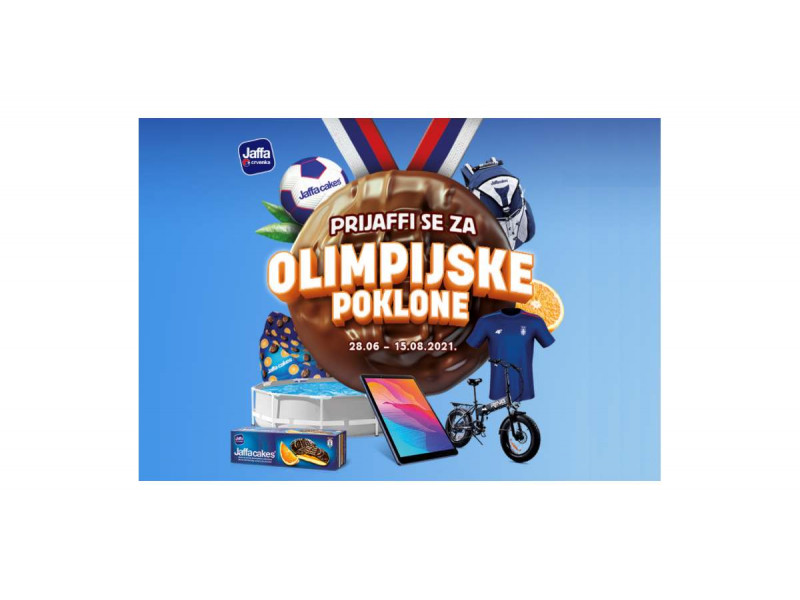 Jaffa nagradna igra 2021: Prijaffi se za Olimpijske poklon