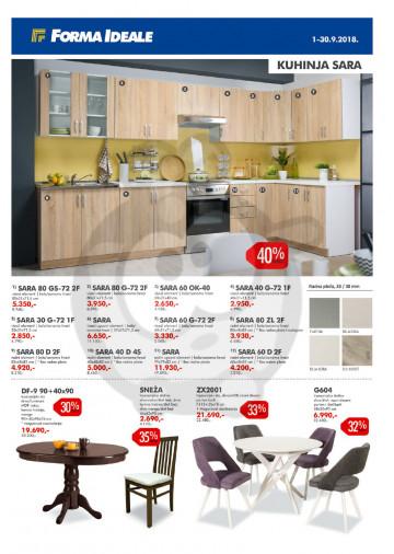 Forma Ideale Nameštaj Katalog Akcija 0109 30092018