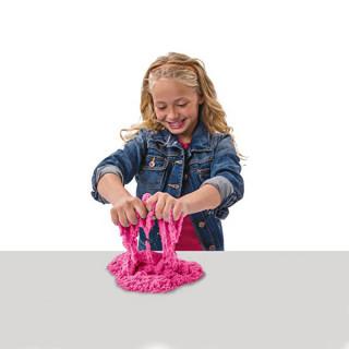 Magični kinetički pesak u boji za igru - Set od 600g peska + modle