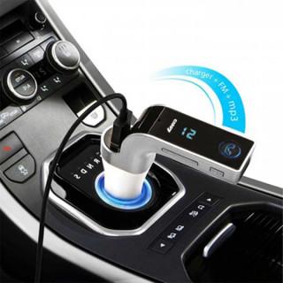 CAR G7 - Mini Bluetooth transmiter zvuka za auto  + punjač za telefon