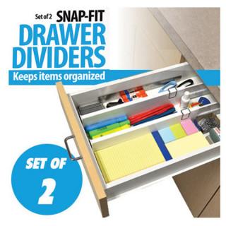 Drawer Divider - Set od 2 podesive pregrade za fioke