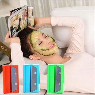 Japanski rezač za pravljenje maske za lice od krastavca