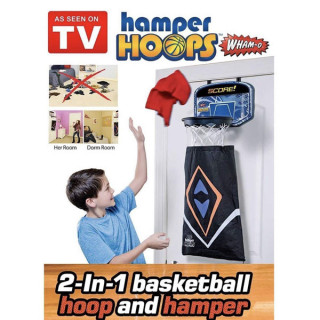 Wham-O Hamper Hoops - Koš 2 u 1 + vreća za prljav veš