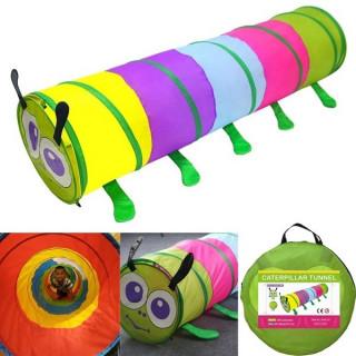 Tunel igraonica za decu - Šator u obliku gusenice 1.8 metara
