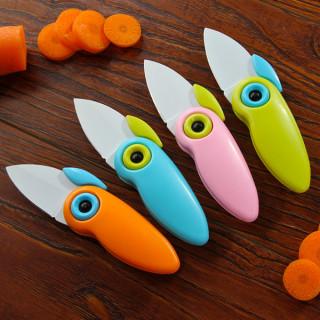 Šareni sklopivi papagaj - nožić za sečenje voća i povrća