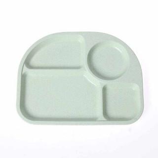 Plastični tanjir za ručavanje sa pregradama