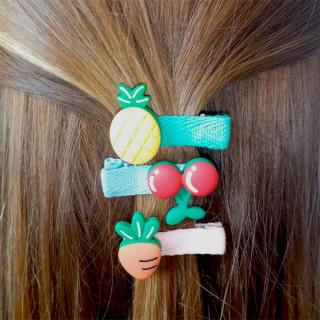 Vesele šnalice za kosu u obiliku voćkica