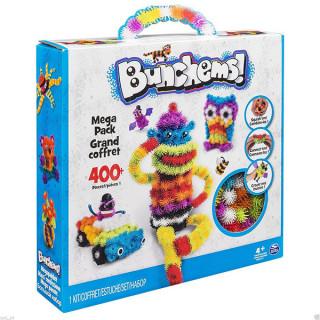Bunchems Mega šareni čičak - Kreativni set od 400 delova