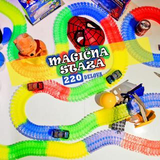 Trkački set MAGIČNA STAZA - 220 delova