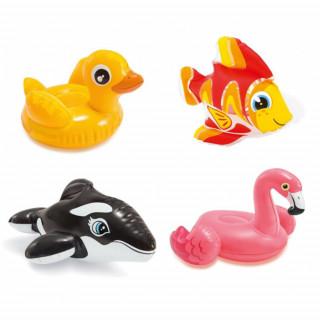 INTEX BZ58590 Water toys - Gumene igračke za vodu - patkica, flamingo