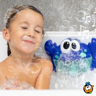Bubble Crab - Kraba koja pravi mehuriće tokom kupanja dece
