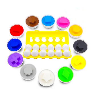 Edukativna jaja različitih oblika i boja