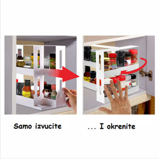 Store And More - klizni organizer začina koji štedi prostor