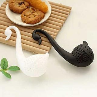 Elegantna merica za čaj u obliku labuda