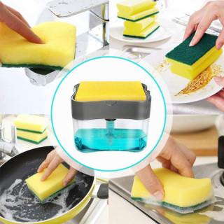 Deterdžent dispenzer – savršen dozer za sapunjanje sunđera