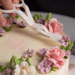 Hvataljka za ružice - makaze za lakše ukrašavanje torti